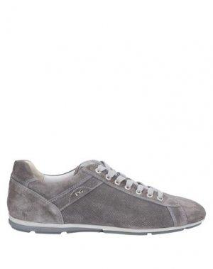 Кеды и кроссовки NERO GIARDINI. Цвет: серый