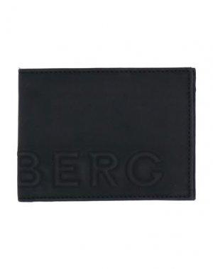 Бумажник ICEBERG. Цвет: черный