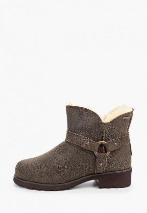 Ботинки Bearpaw Anna. Цвет: коричневый