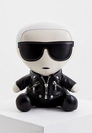 Брелок Karl Lagerfeld. Цвет: черный