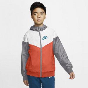 Куртка для мальчиков школьного возраста Sportswear Windrunner - Оранжевый Nike