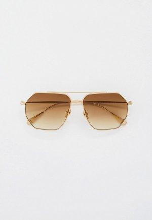 Очки солнцезащитные Baldinini BLD 2008 104 GOLD. Цвет: золотой
