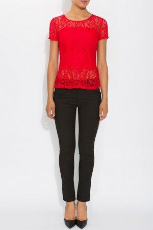 Блузка Acasta. Цвет: красный