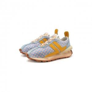 Комбинированные кроссовки Lanvin. Цвет: разноцветный