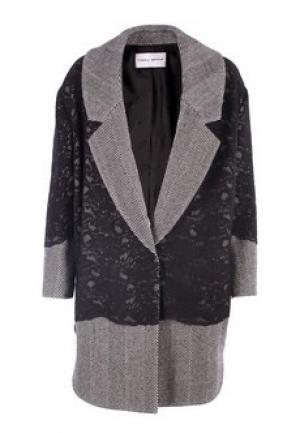 Пальто FRANKIE MORELLO. Цвет: серый