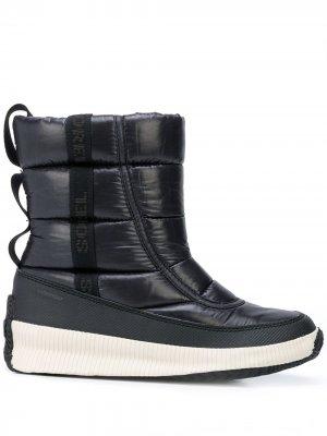 Ботинки Out N About Sorel. Цвет: черный