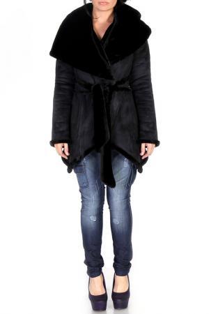 Пальто JUNONA. Цвет: black
