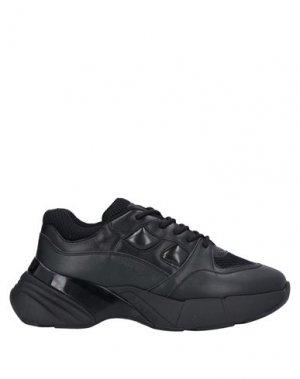 Низкие кеды и кроссовки PINKO. Цвет: черный