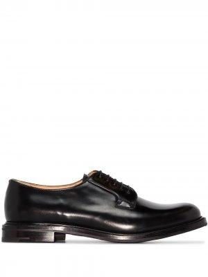 Churchs туфли Shannon на шнуровке Church's. Цвет: черный
