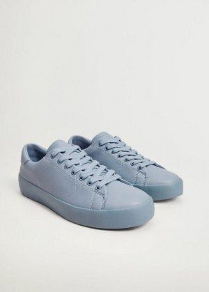 Одноцветные кроссовки - Blanca Mango. Цвет: синий
