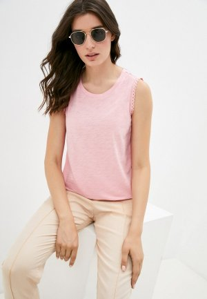 Майка Gap. Цвет: розовый