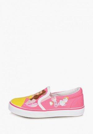 Слипоны Disney. Цвет: розовый
