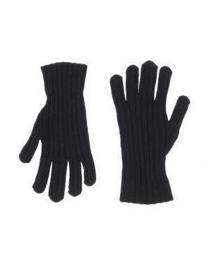 Перчатки DIRK BIKKEMBERGS SPORT COUTURE. Цвет: темно-синий