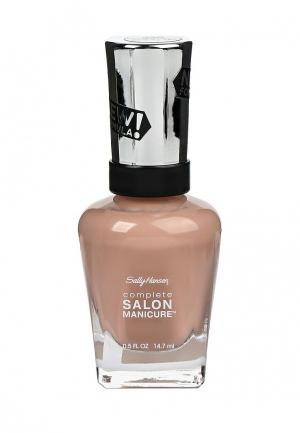 Лак для ногтей Sally Hansen Complete Salon Manicure, 220 Caf? Au Lait, 14 мл. Цвет: розовый