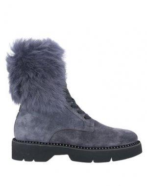 Полусапоги и высокие ботинки 181 by ALBERTO GOZZI. Цвет: серый