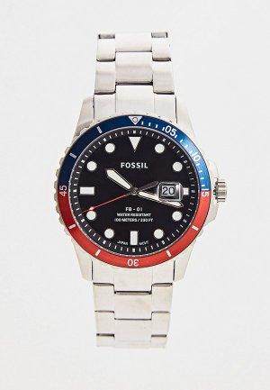 Часы Fossil FS5657. Цвет: серебряный
