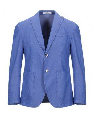 Пиджак GIACCHE'. Цвет: лазурный