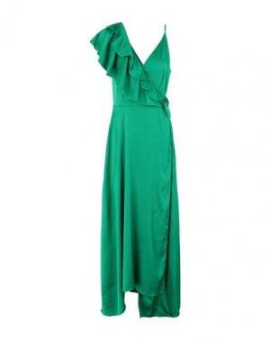 Длинное платье 2ND DAY. Цвет: зеленый