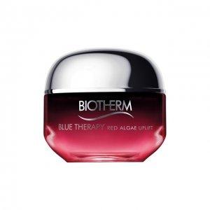 Укрепляющий крем для лица против признаков старения Blue rapy Red Algae Biotherm. Цвет: бесцветный