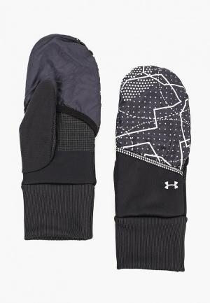 Перчатки Under Armour UA Convertible Glove. Цвет: черный