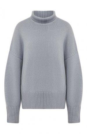 Кашемировый пуловер Loro Piana. Цвет: голубой