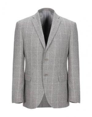 Пиджак JASPER REED. Цвет: светло-серый