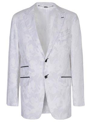Пиджак хлопковый с узором BILLIONAIRE