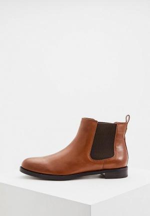 Ботинки Lauren Ralph. Цвет: коричневый