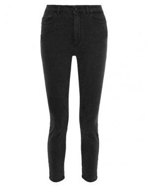 Джинсовые брюки DL1961. Цвет: стальной серый