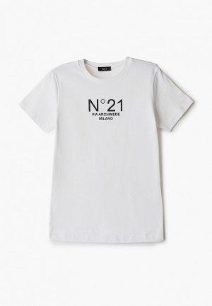 Футболка N21. Цвет: белый