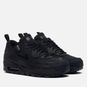 Мужские кроссовки Air Max 90 Surplus Nike. Цвет: чёрный