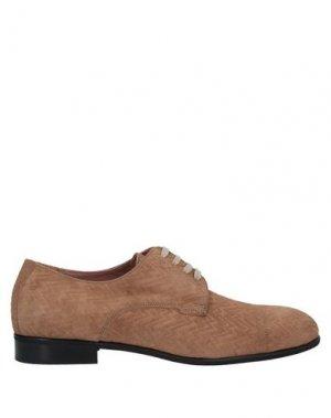 Обувь на шнурках BRUNO MAGLI. Цвет: верблюжий