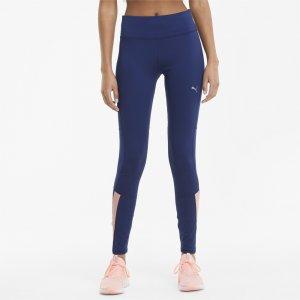 Леггинсы Favourite Womens Running Leggings PUMA. Цвет: синий