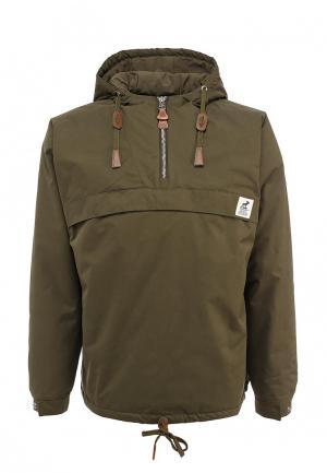 Куртка утепленная Fat Moose. Цвет: хаки