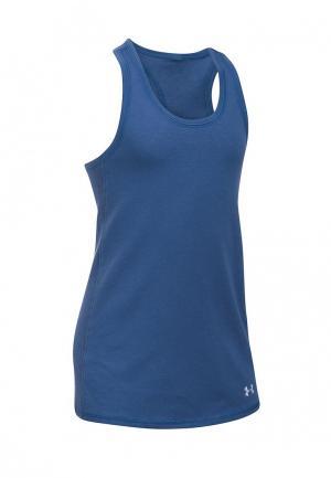 Майка спортивная Under Armour UA Favorite Knit. Цвет: синий