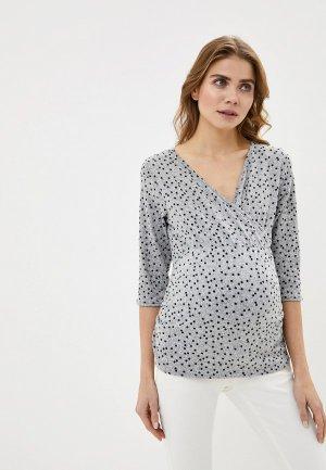 Пуловер Dorothy Perkins Maternity. Цвет: серый