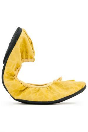 Балетки Butterfly Twists. Цвет: желтый