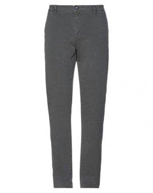 Повседневные брюки FRED MELLO. Цвет: стальной серый