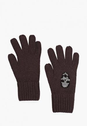 Перчатки Katomi. Цвет: коричневый