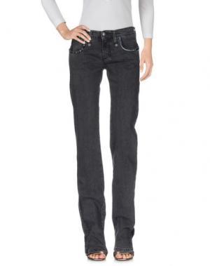 Джинсовые брюки C'N'C' COSTUME NATIONAL. Цвет: черный