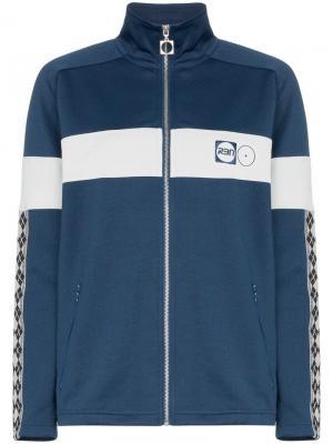 Спортивная куртка X RBN на молнии с логотипом Bjorn Borg. Цвет: синий