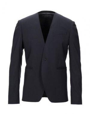 Пиджак HILTON. Цвет: темно-синий