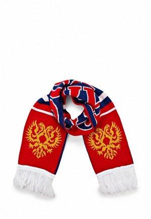 Шарф Atributika & Club™ RUSSIA. Цвет: красный