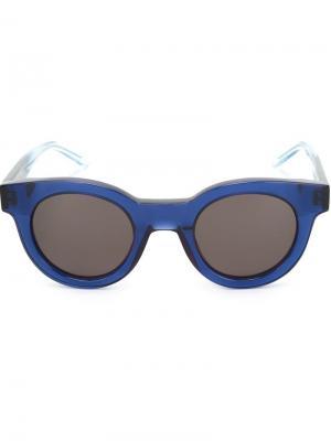 Солнцезащитные очки Type 02 Sun Buddies. Цвет: синий