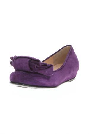 Балетки Nando Muzi. Цвет: фиолетовый