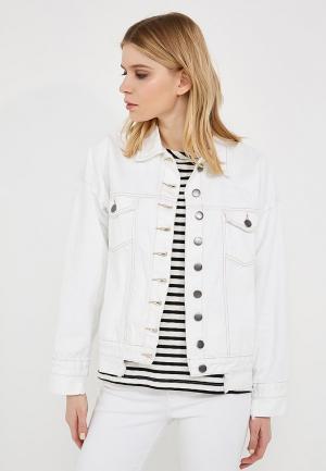 Куртка джинсовая One Teaspoon. Цвет: белый
