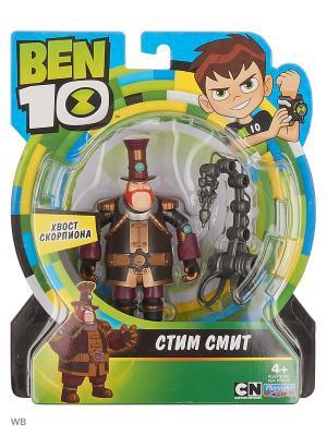 Ben 10 Фигурка 12.5 см, Стим Смит. Цвет: черный, коричневый