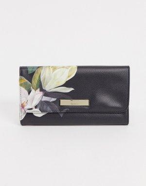 Сверток для украшений с цветочным принтом -Черный Ted Baker