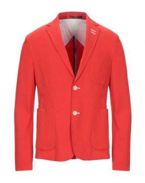 Пиджак SIMON PEET. Цвет: коралловый