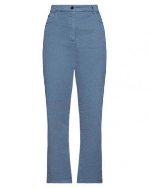 Джинсовые брюки ATTIC AND BARN. Цвет: грифельно-синий